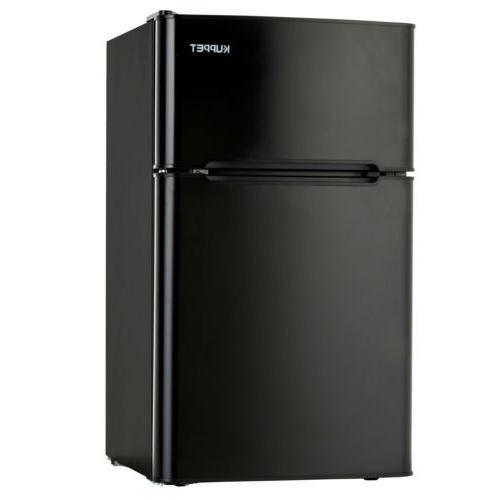 3.2 Cu Ft Mini Fridge Top Freezer Compact Refrigerator  2-Do