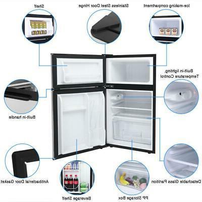 3.2 Cu Mini Fridge Compact Refrigerator for Office Home