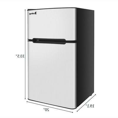 3.2 Ft. Steel Freezer Fridge