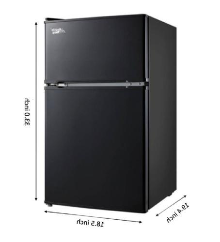 3.2 Mini Freezer Cooler 2-Door Office New