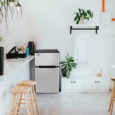 3.2 Cu Ft. Stainless Steel Freezer