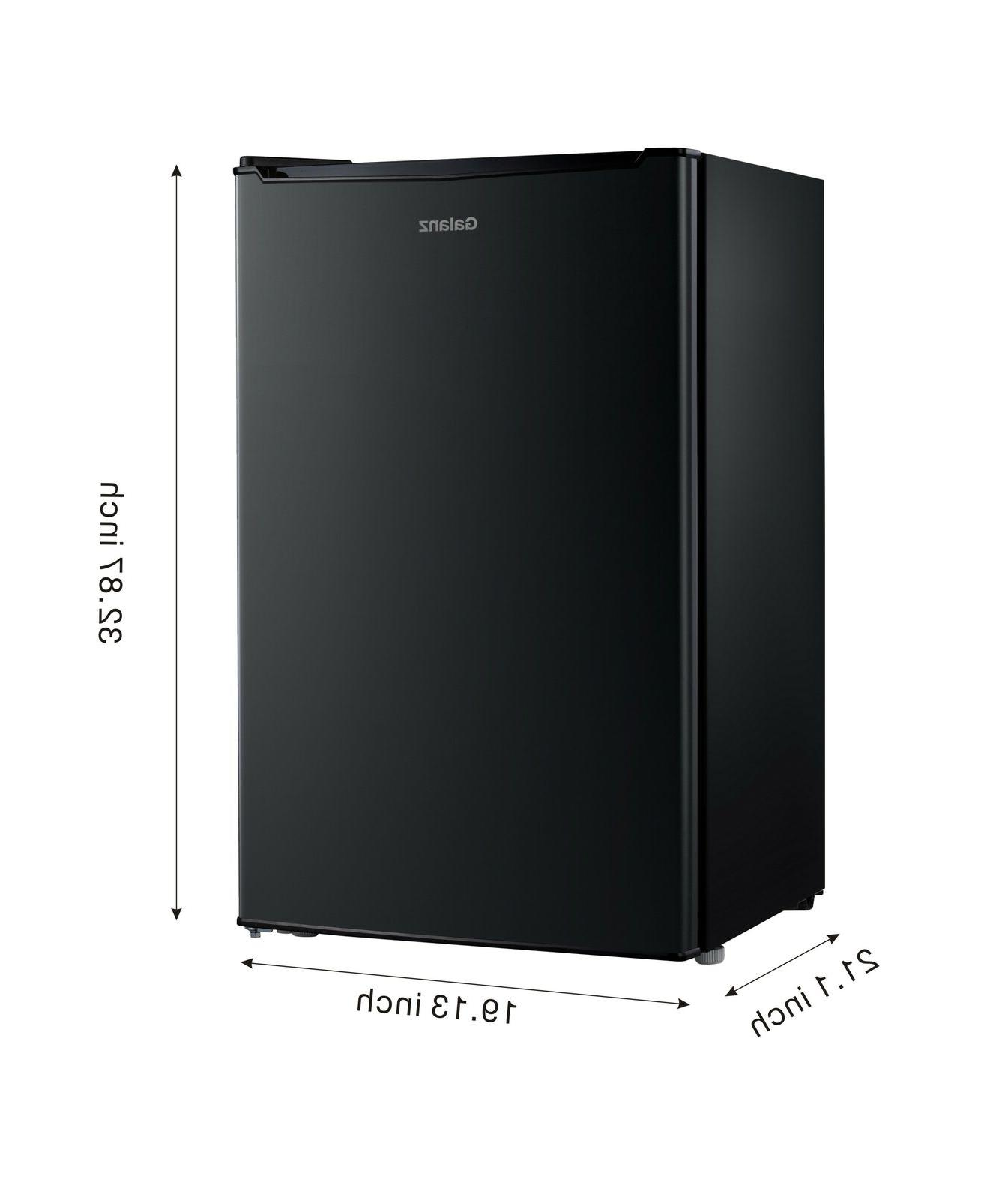 New Galanz 3.5 cu. ft. Compact Single-door Mini Fridge Best