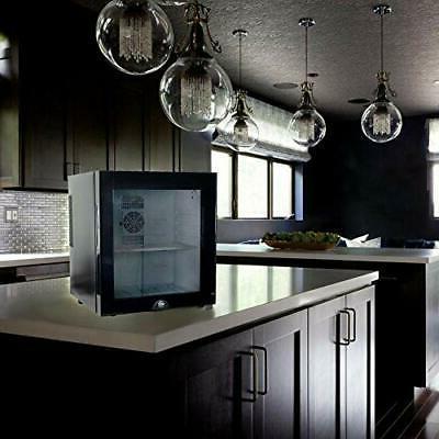 WYZworks Steel Refrigerator Eco Saving Mini Black,
