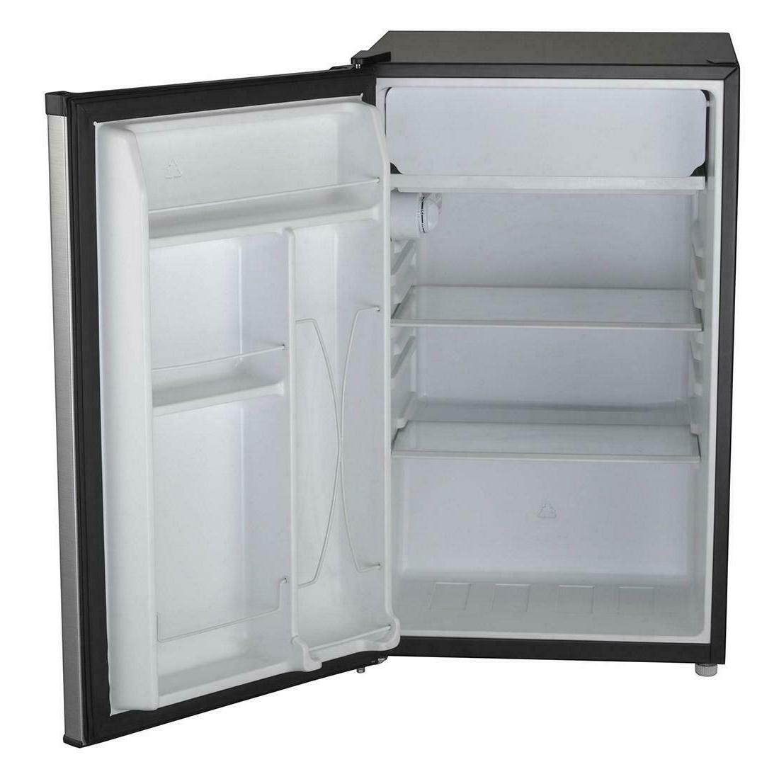 Compact Fridge Refrigerator Stainless Dorm