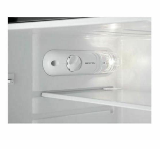 4.3 Cu Fridge Freezer 2 Door Stainless Steal Refrigerator