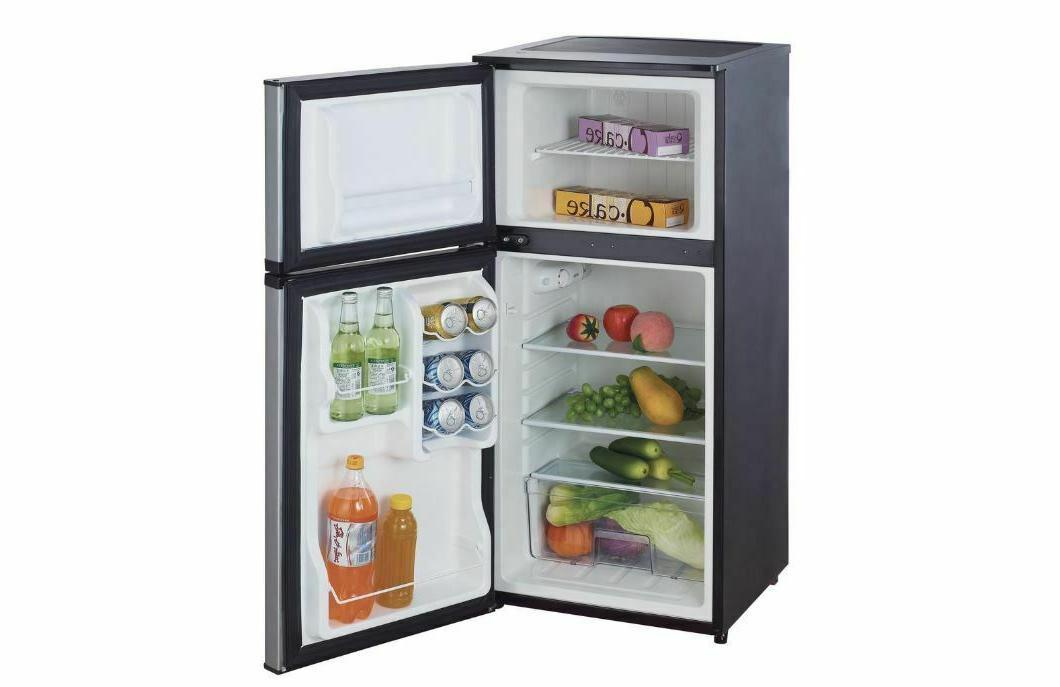 4.3 Fridge Stainless Compact Refrigerator