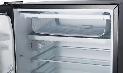 Mini Fridge Small Freezer 4.3 Single