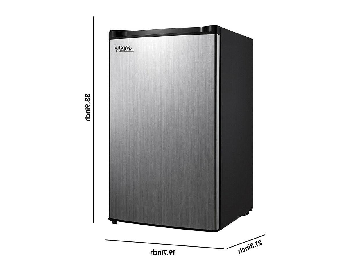 4.4 Cu Fridge One Compact Refrigerator with Separate Chiller