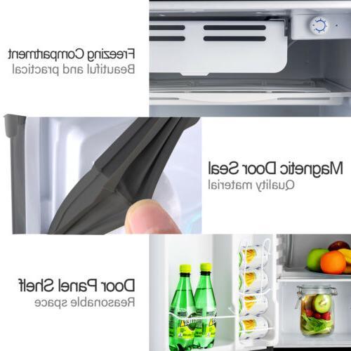 4.6 Mini Compact Fridge Freestanding Home