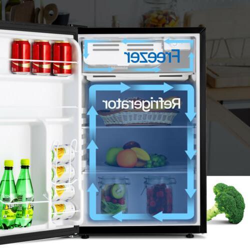 4.6 CUFT Mini Refrigerator Compact Fridge Freezer Home Dorm