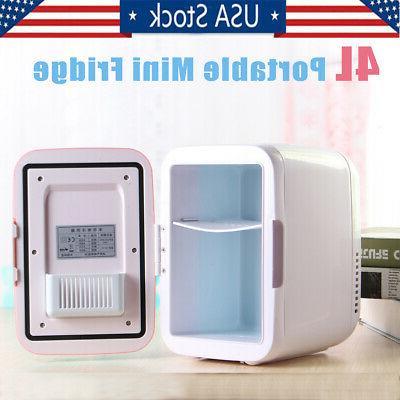 4l portable mini fridge table top electric