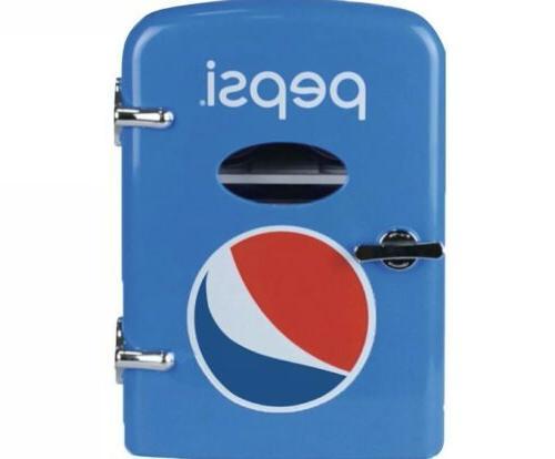 Pepsi 6 Can Mini Fridge 120V and Car