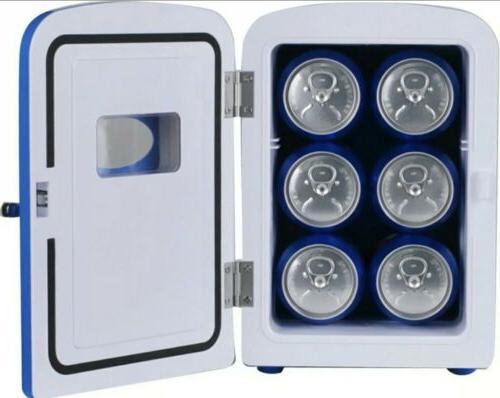 "Pepsi 10"" Mini Fridge Refrigerator and 12V Car"