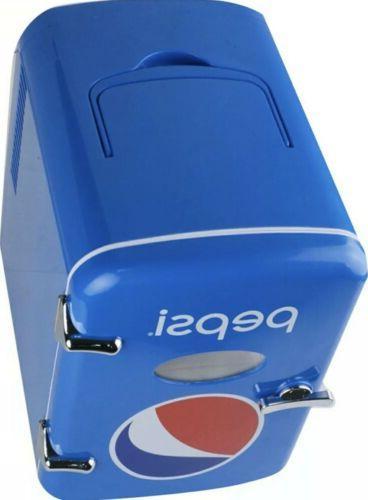 Pepsi Mini Fridge Refrigerator and Car
