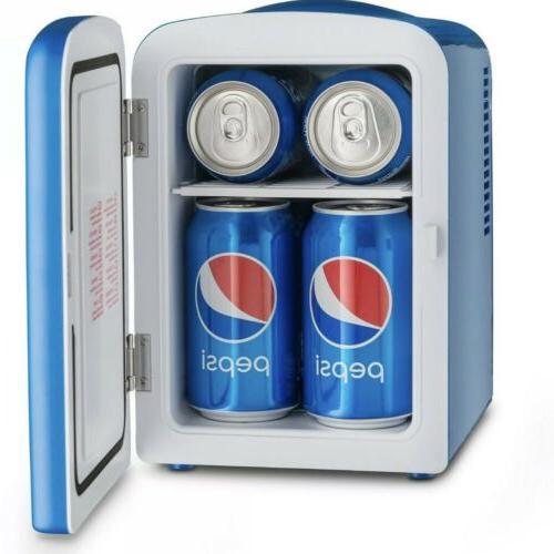 Pepsi Mini Refrigerator and 12V Adapter