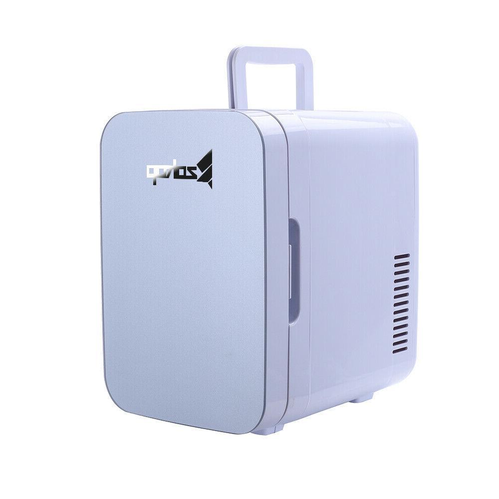 6 Litre/0.21 Cuft/8 CanPortable Small Mini Fridge Cooler&War