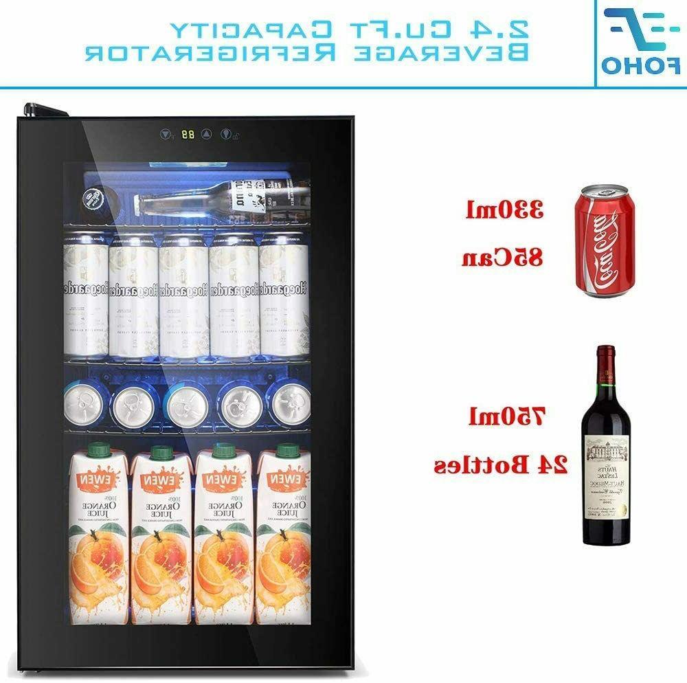 Beverage 85 Can Bottle Mini Glass Door