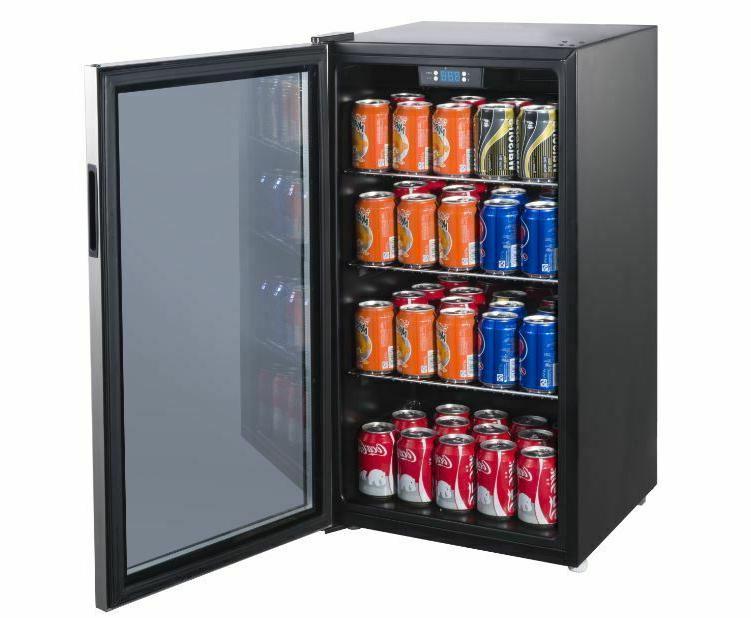Beverage Refrigerator Wine Cooler Drinks Fridge Under Counte