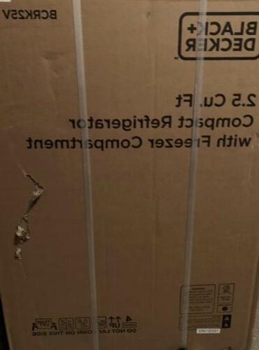 Black Decker Refrigerator Door Mini Fr