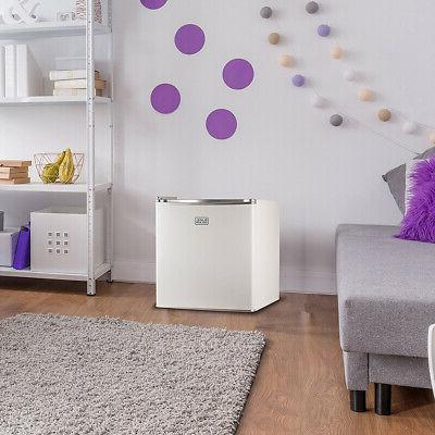 Black & Decker Refrigerator Energy Star Single Door Mini Fridge Fr