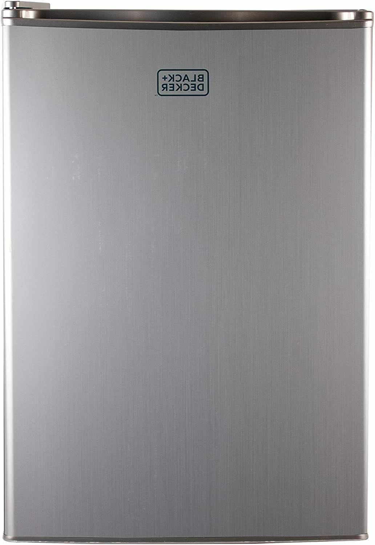 BLACK+DECKER BCRK25V Compact Refrigerator Energy Single Mini Fridge