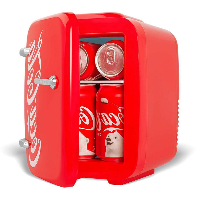 Coca-Cola cu. Fridge in Red without Freezer