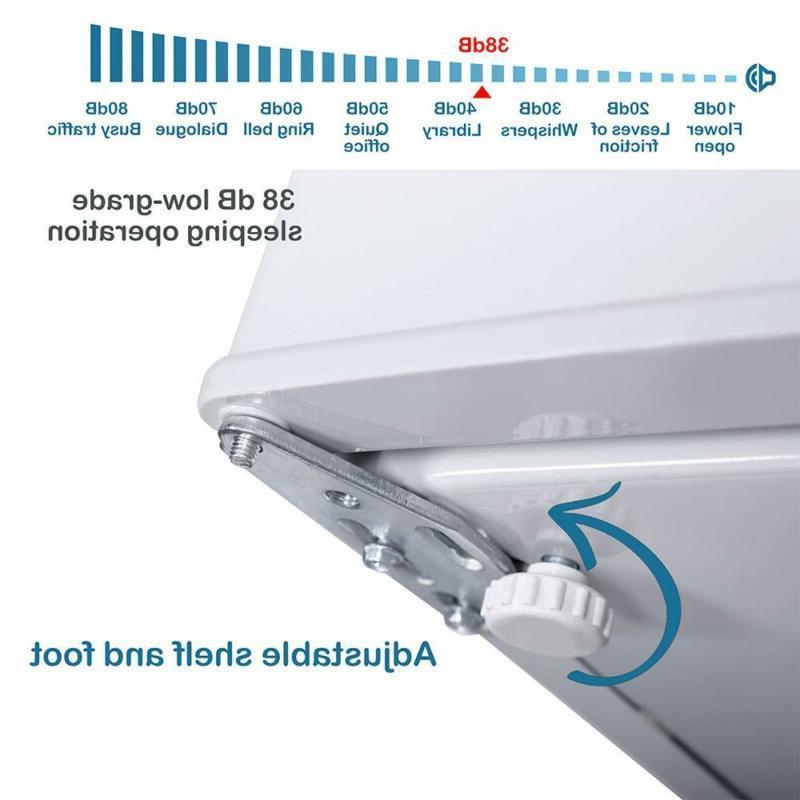 Northair Compact Refrigerator 1.6 cu Mini Fridge Freezer Single