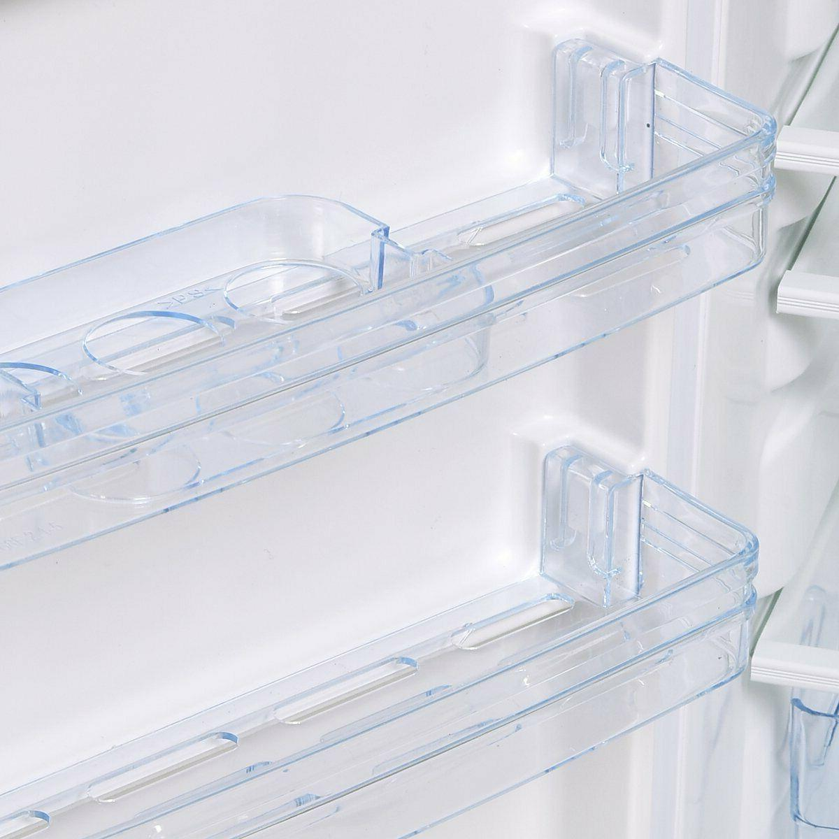 compact mini freezer removeable shelves