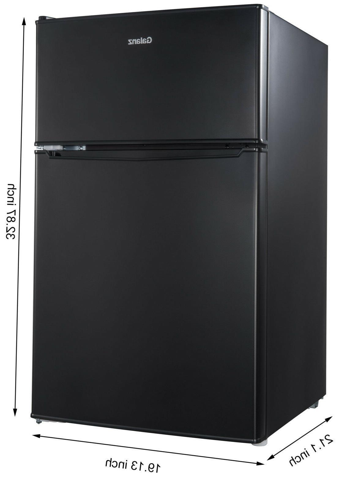 Galanz 3.1 cu ft Compact Refrigerator, Black