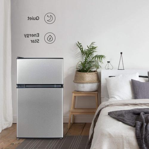 Compact Refrigerator W/Freezer 3.1 Cu.Ft. Star Efficiency