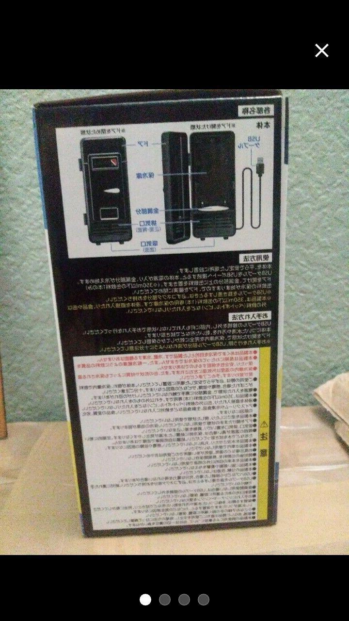 Desktop Mini Refrigerator Cool Box