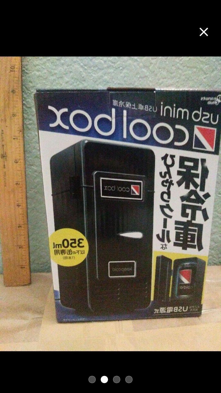 Desktop Gadget Refrigerator RED