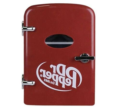 dr pepper fridge cooler thermoelectric 4l holds