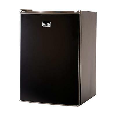 energy star black compact refrigerator single door