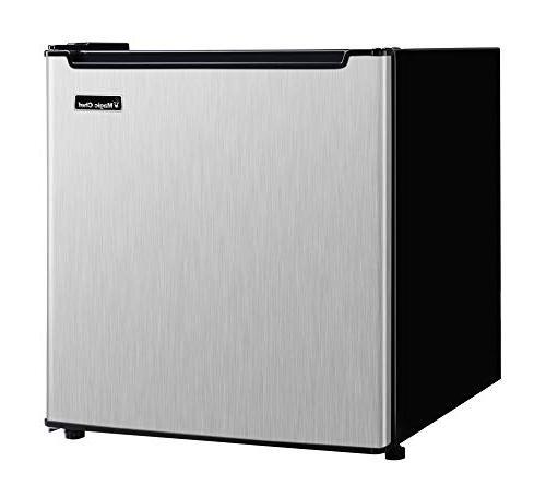 Energy Star 1.7 Ft. Mini All-Refrigerator Stainless