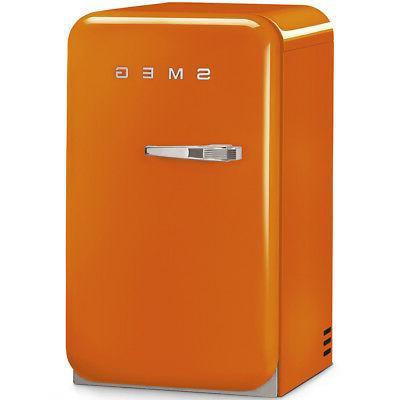 Smeg FAB5URO 50's Style Mini Orange, Right Hand Hinge