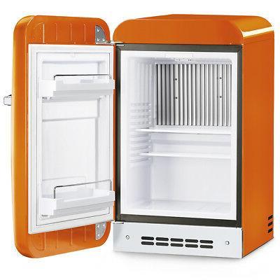 Smeg FAB5URO 50's Style Mini Orange, Right Hinge