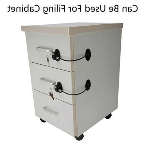2pcs Child Cabinet Drawer Mini Fridge Door