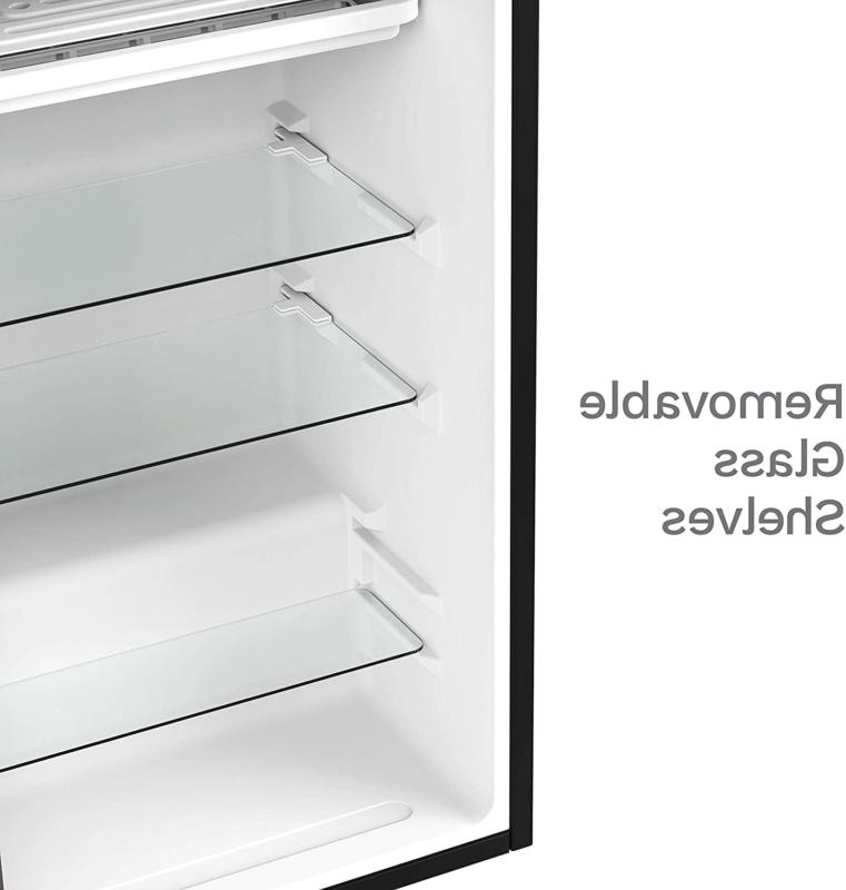 HOMELABS Fridge Cubic ft Refrigerator with Small