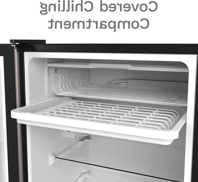 HOMELABS Fridge 3.3 Cubic Refrigerator Small Freezer