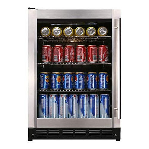 Magic 154 Can Beverage Cooler, Stainless