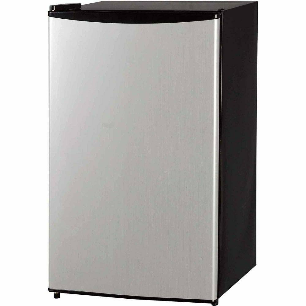 Midea 3.3 Cu Ft Compact Refrigerator WHS-121LSS1, Stainless