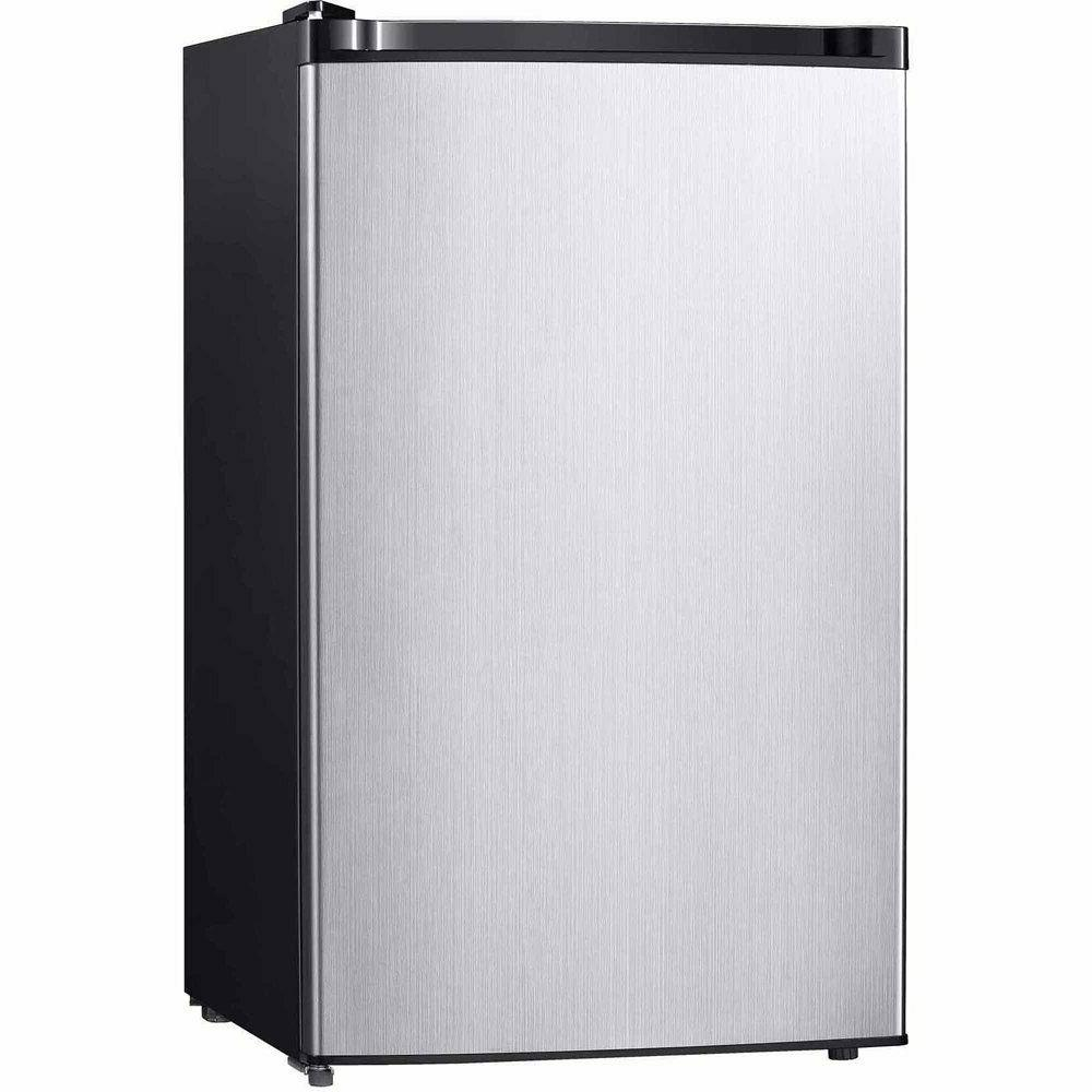 Midea 4.4 Cu Ft Compact Refrigerator REF 160 R-44 SS, Stainl