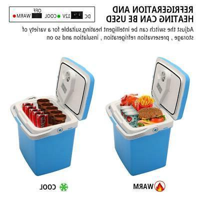 mini fridge 12v 26l portable cooler warmer