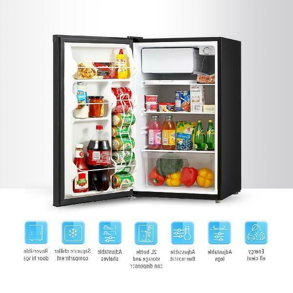 Mini Cu Ft Refrigerator Dorm Single Door Freezer Star