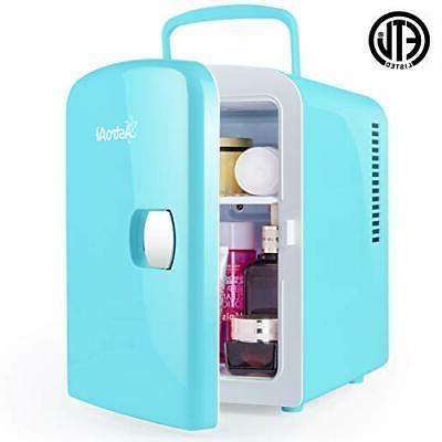 mini fridge 4 liter 6 can ac