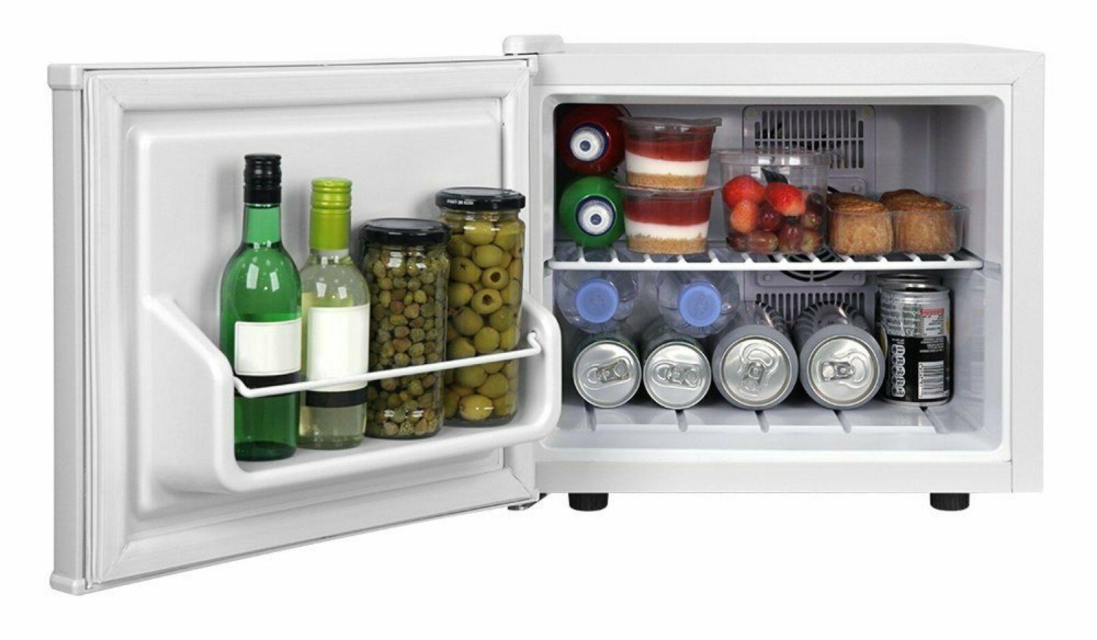 Mini Fridge Kitchen Storage Shelf Ice Box Cooler Table Top S
