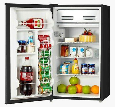 mini fridge small compact refrigerator freezer kitchen