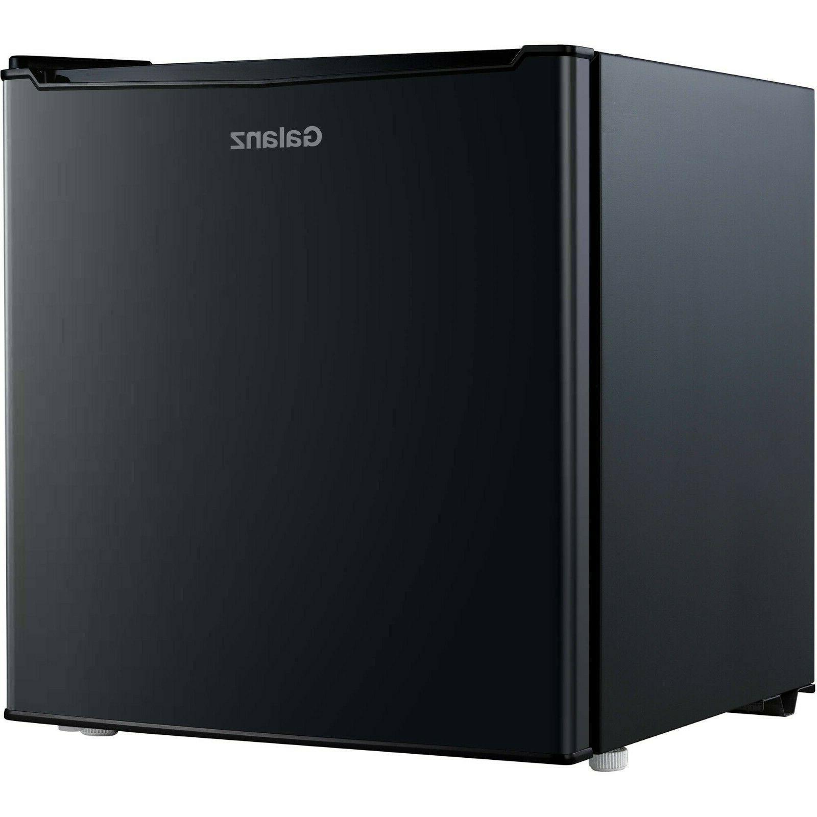Single compact portable shelf cooler Black
