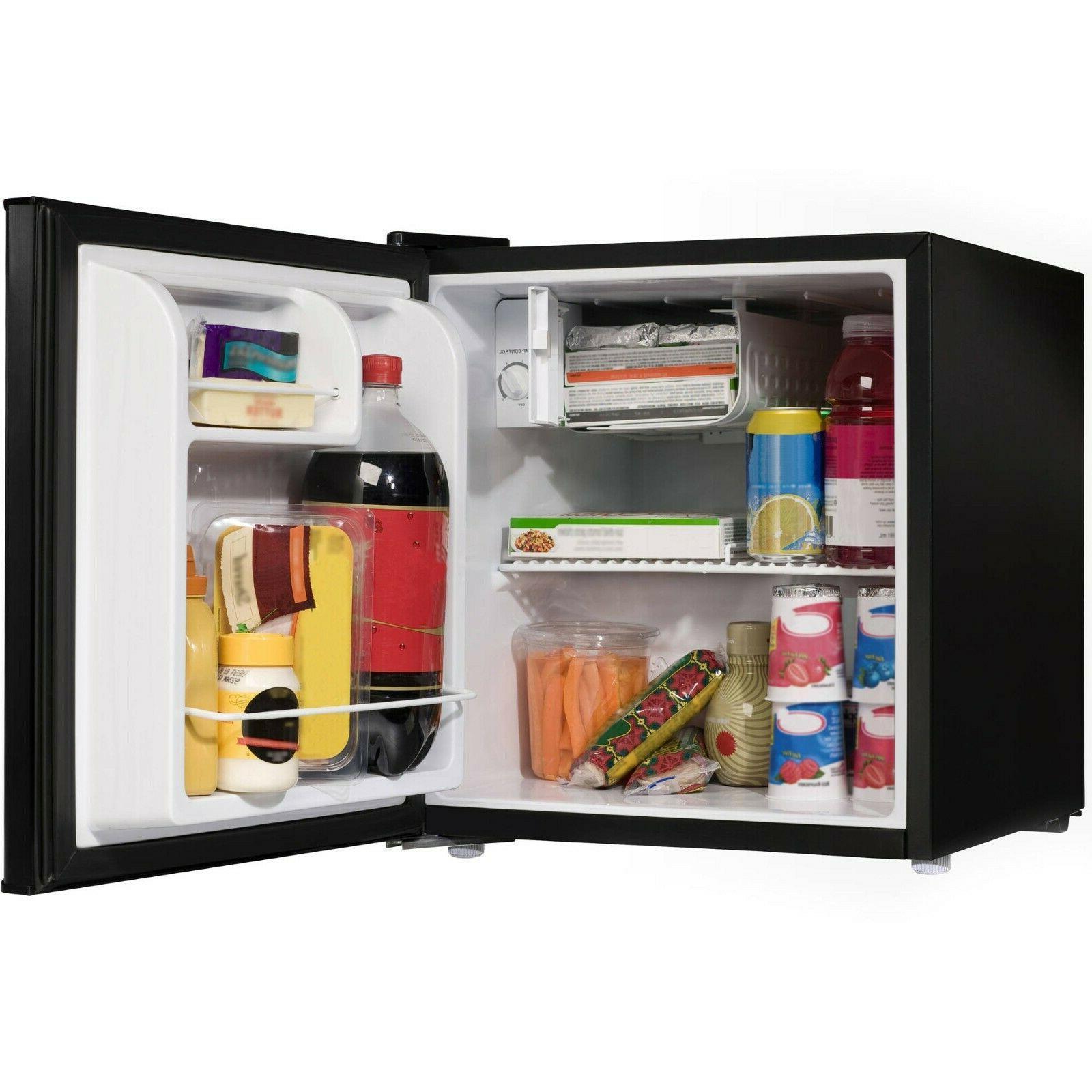 single door mini fridge compact portable shelf